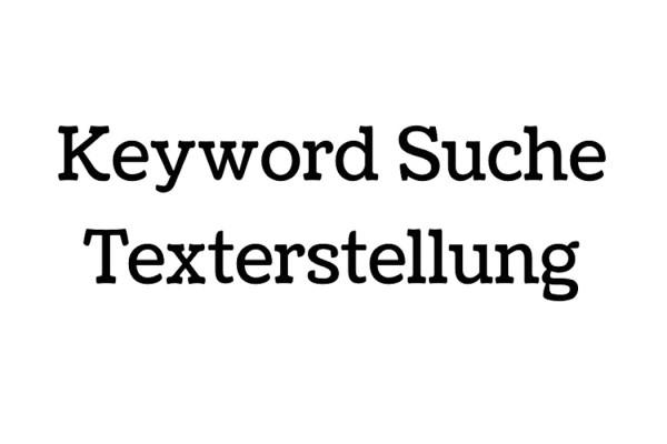 Keyword-Suche-Texterstellung