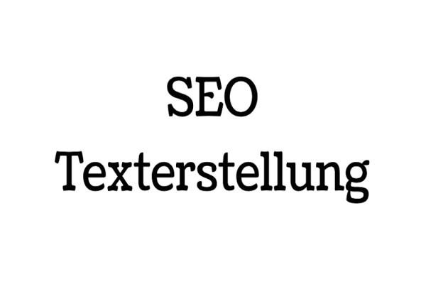 SEO-Texterstellung-Text-Erstellung