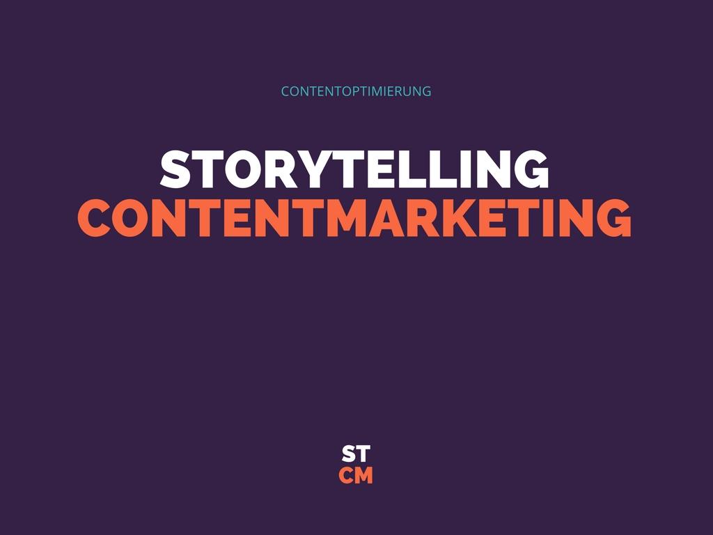 Storytelling Contentmarketing