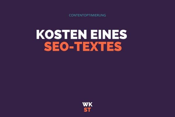 Was kostet ein optimierter SEO Text